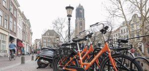 Utrecht deelfietsen