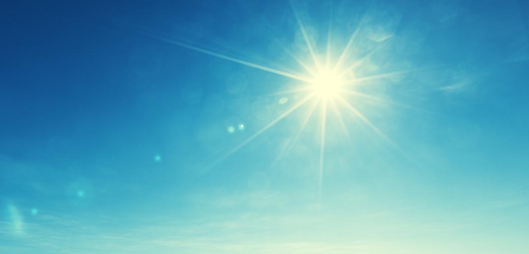 Zomer zon