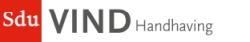 Sdu VIND Handhaving