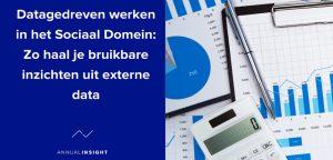 header Datagedreven werken in het sociaal domein
