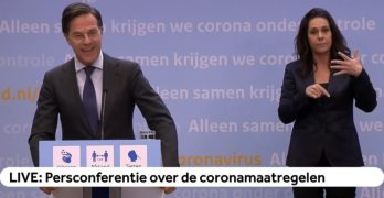 Eerste stap persconferentie over coronamaatregelen 20 april