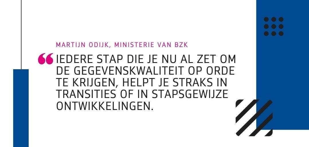 Martijn Odijk (BZK): 'Niets doen is geen optie'