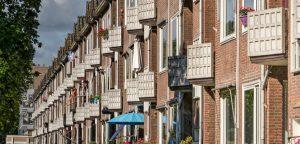 straat in Zwolle