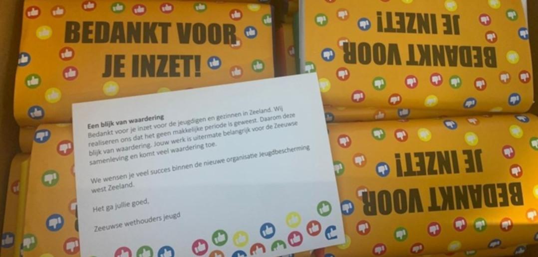 Het-bedankje-voor-de-jeugdzorgmedewerkers-foto-Omroep-Zeeland